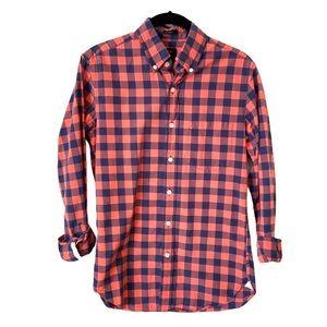 J. CREW Slim Fit Plaid Button Down Shirt